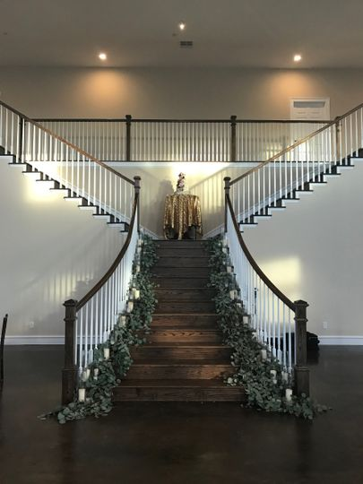 Staircase without candles