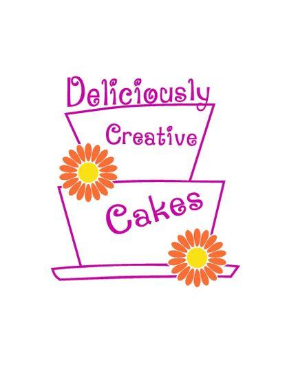 deliciously creative cakeslogo copy