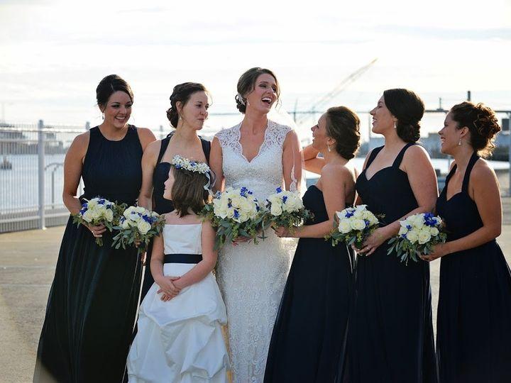 Tmx 1454796427819 Leah And Maids Quincy, Massachusetts wedding beauty