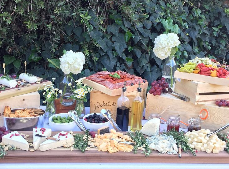 This beautiful cocktail hour Cheese Table is the perfect way to impress your guests.
