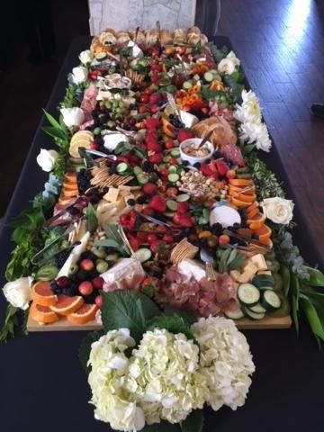 The Cheese Block Grazing Table