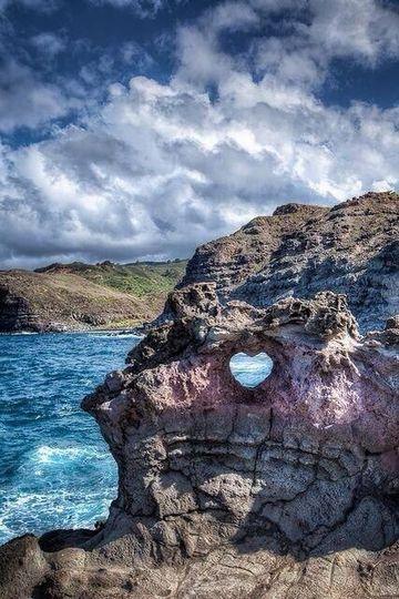 maui heart shaped rock