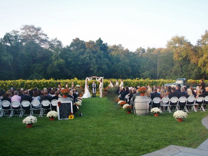 Tmx 1503012332808 63 Ceremony Outside Riverton, NJ wedding venue