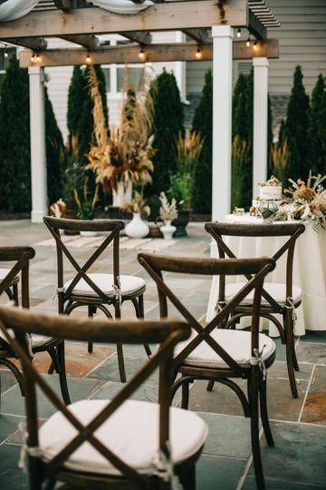 Ceremony outdoors