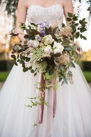 Stunning bouquet - Photo: Jen Vazquez Photography