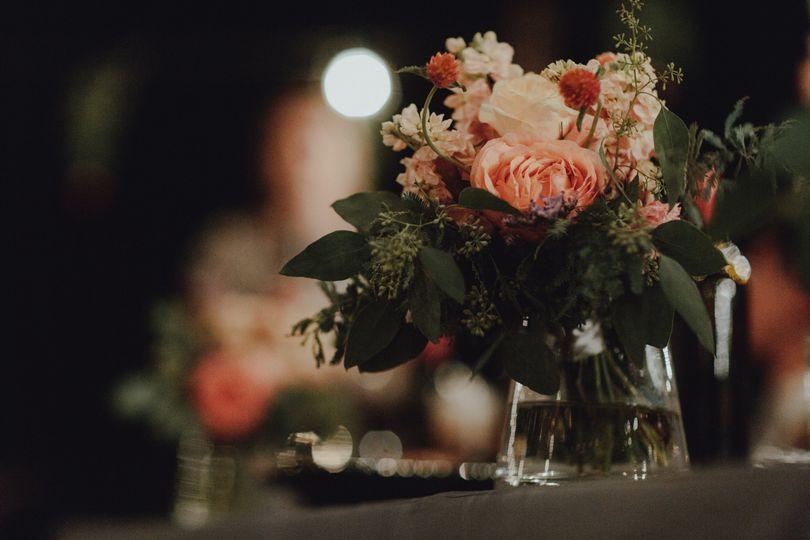 Floral décor - Photo: Hom Photography