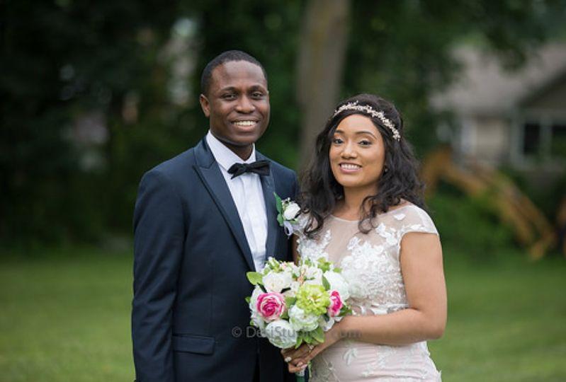 Outdoor African Wedding