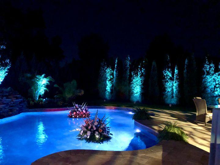 Custom Lighting for a Backyard