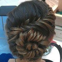 Round braided hair