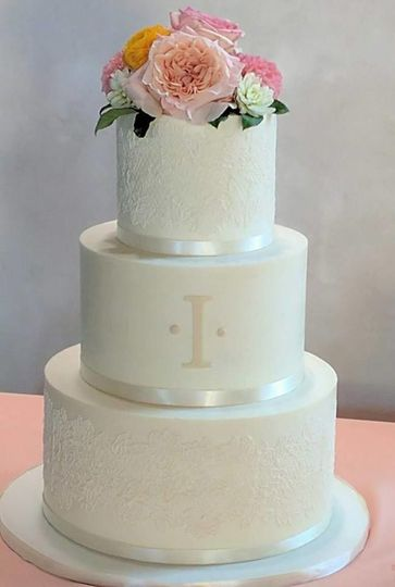 buttercream and cake lace