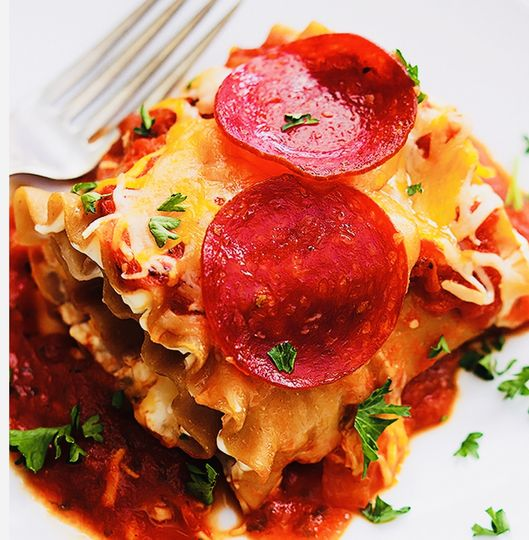 Tia Rubino's lasagna