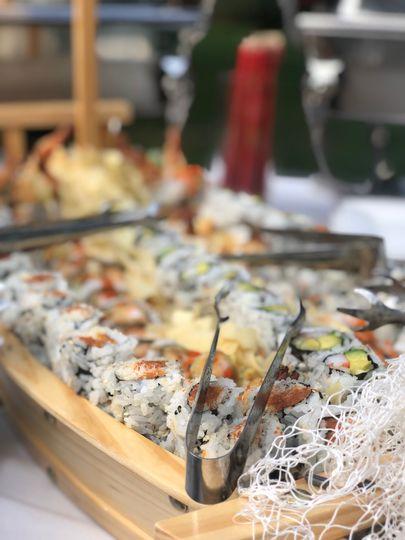 Sushi Boat...YUM!