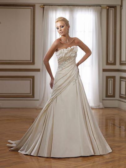 Sophisticated bride
