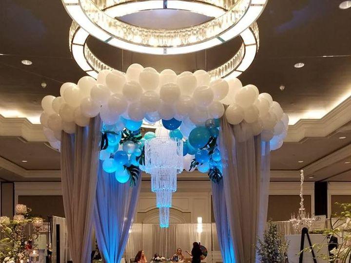 Tmx Circle Structure With Curtains Balloons 51 53383 1556375450 Bradenton, FL wedding eventproduction