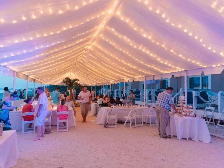 Tmx Full Drape With Material And Twinkle Lights 51 53383 Bradenton, FL wedding eventproduction