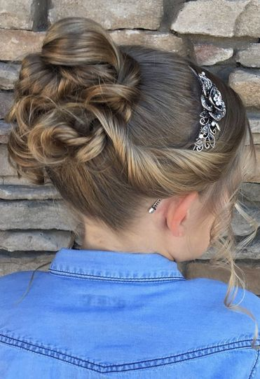 Flower Girl Updo