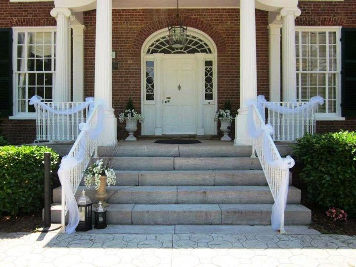 Front Steps for Grand Entrance