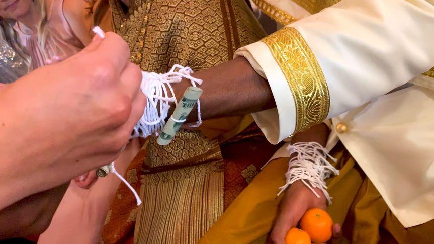American / Laotian Wedding