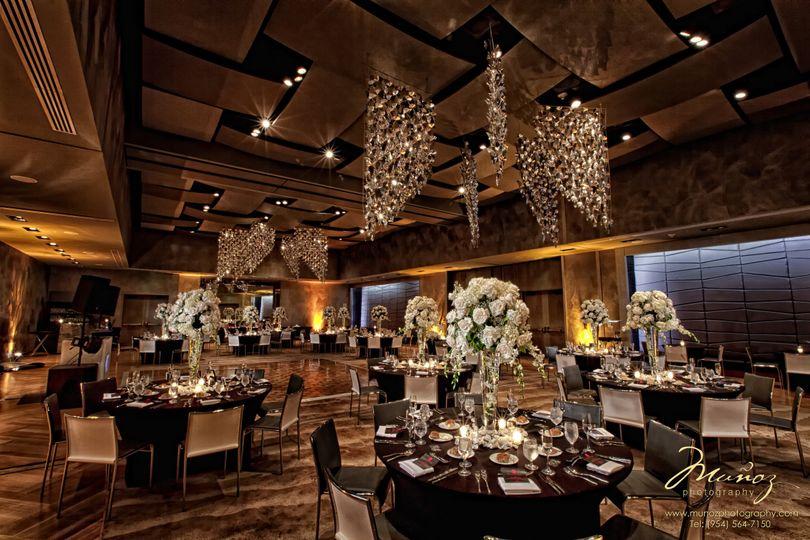 Classy wedding reception