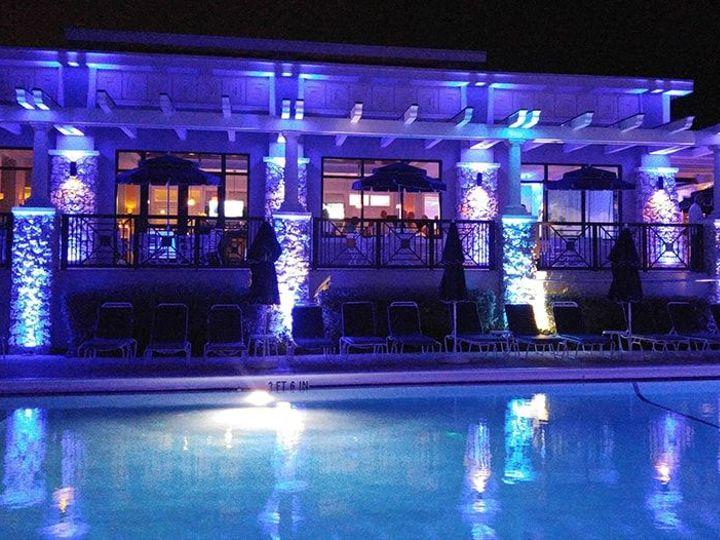 Tmx 1529615339 F92b1711e0385ffc 1529615338 Cf11aa424d9be1f4 1529615293825 65 Cyan Blue Up Ligh Fort Lauderdale, FL wedding dj
