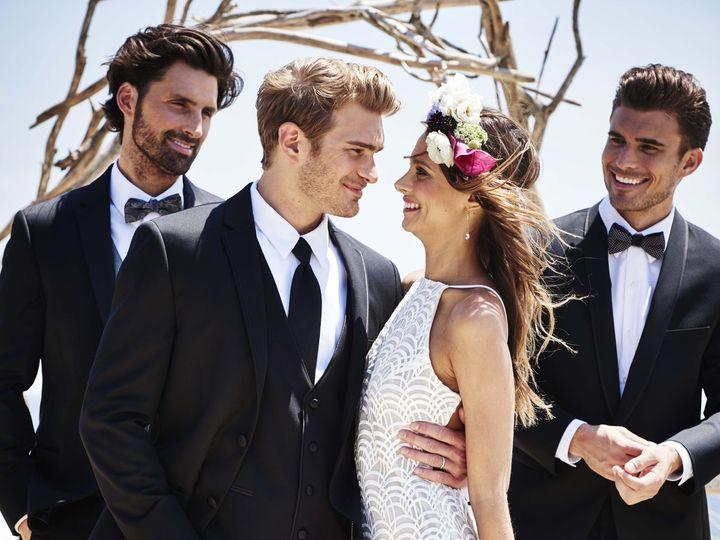 Tmx Blk Wedding Tux Group 150710 0687 51 539383 Mineola, NY wedding dress