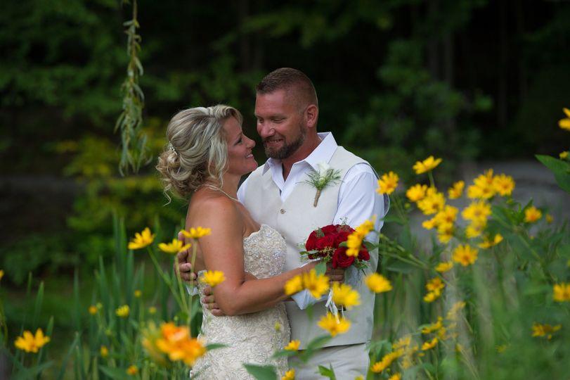 Real wedding couple at FLI