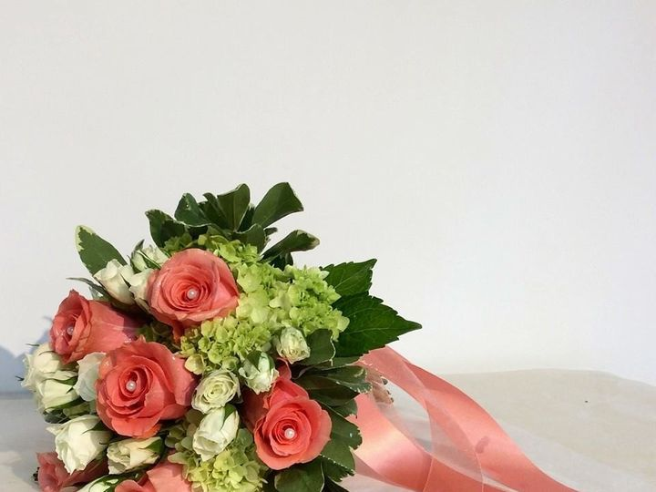 Tmx 1434378601559 Coral And Green Culpeper, District Of Columbia wedding florist