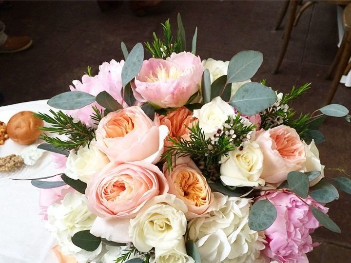 Tmx 1434378637229 Peach And Pink Culpeper, District Of Columbia wedding florist