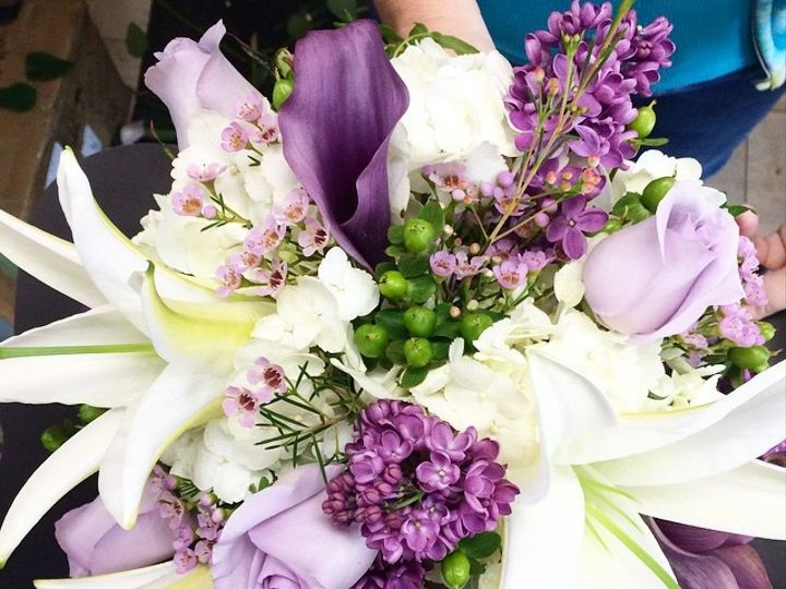 Tmx 1434378639398 Purple Florals Culpeper, District Of Columbia wedding florist