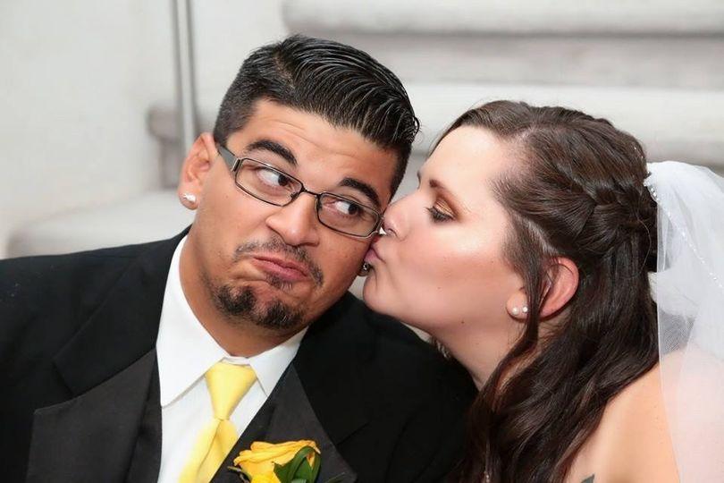 Kiss the groom