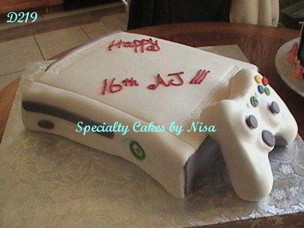 XBOX 360 Groom's Cake (Can be made with lights)