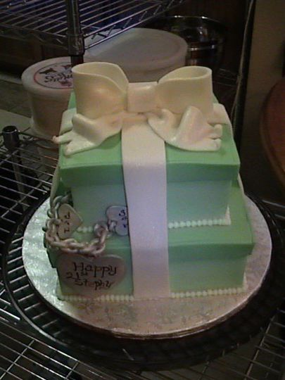 Butter Cream Finish with Fondant/Gum Paste Accents