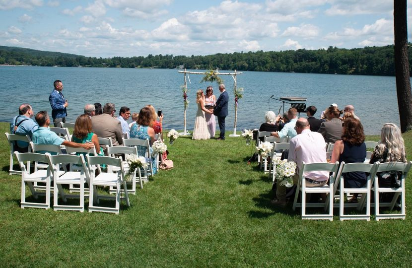 Ceremony on water