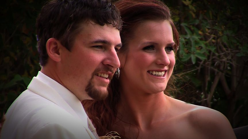 Aliyssa & Mike were married at A Touch of Country in Rockford, WA., in a garden on farmland, with...