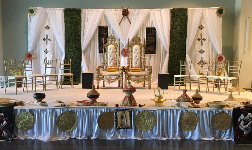 Ethiopian Decor Wedding