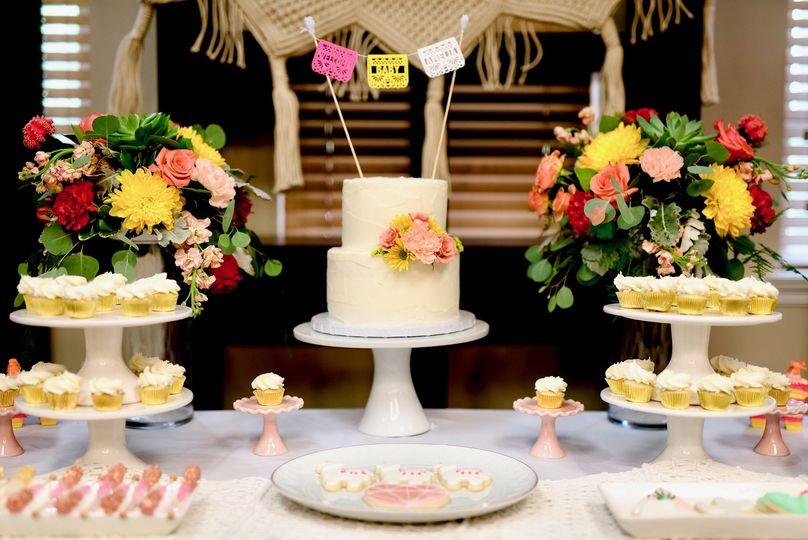 Custom dessert displays