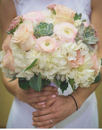 Succulent request for bouquet