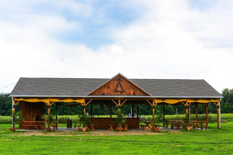 Arrowood Farms - open-air pavilion