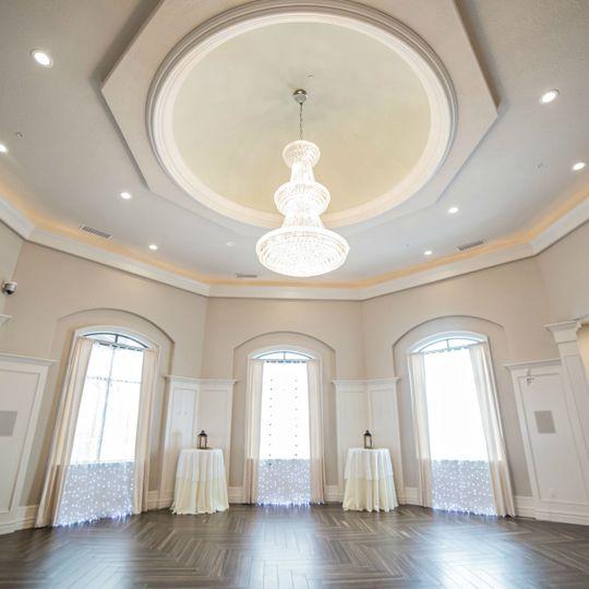 Ballroom at Copper Creek in Springville - Chandelier