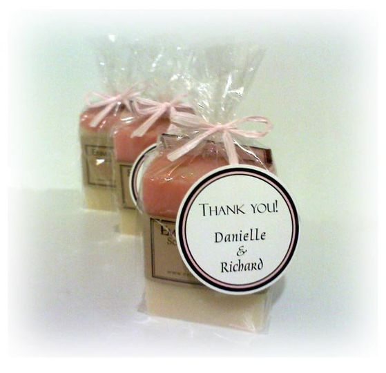 Soap Favor ~ full bar ~ with custom tag (bridal shower).