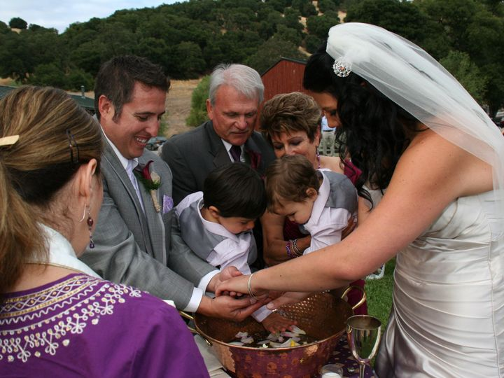 Tmx 1398453456015 Parents And Childen Hands Over Basi Santa Rosa wedding officiant