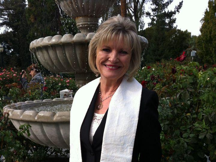 Tmx 1414112723269 Rev Susan Fountain In Stole Santa Rosa wedding officiant