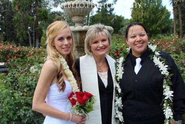 Tmx 1414423298938 Testimony Pic Rev Susan Sheena  Courtney Santa Rosa wedding officiant