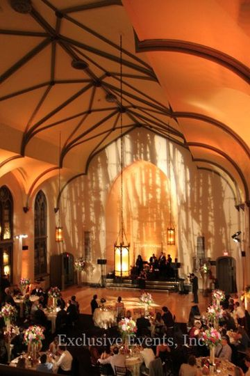 A patterned lighting projection can enhance your theme and decor. Lighting is the most cost...