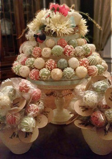 Pastel sweet treats