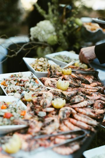 An exquisite buffet