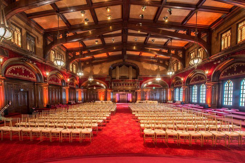 Grand wedding hall