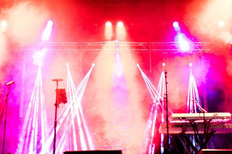 Stage lights ballroom