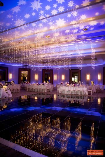 Ballroom set up