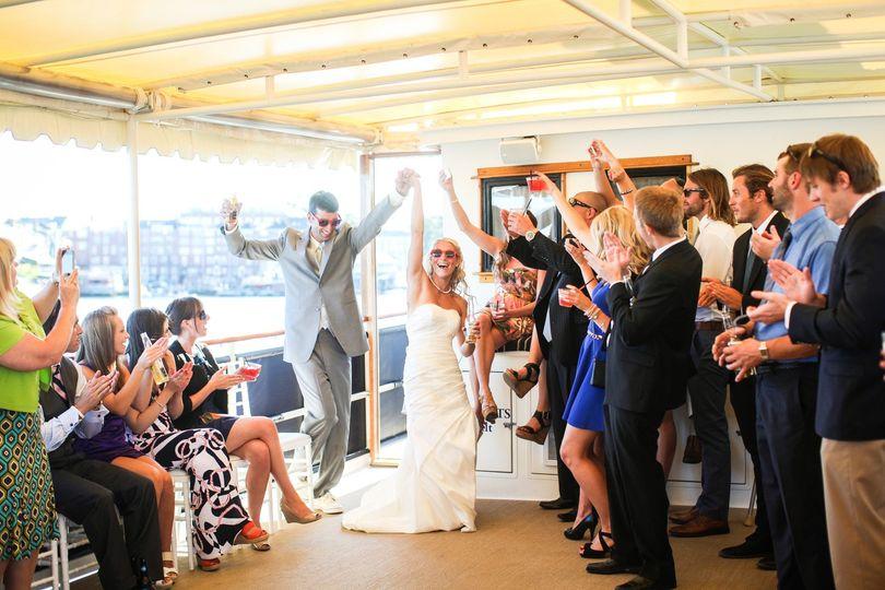 Valiant bride & groom